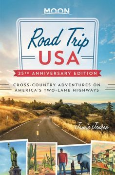 Criss-cross the country on America's two-lane highways with the 25th anniversary edition of the ultimate travel guide to the classic road trip. Inside Road Trip USA you'll find 11 routes through the heart of America, color-coded and extensively cross-referenced to allow for hundreds of possible itineraries. Usa Travel Guide, Travel Usa, Travel Guides, Great American Road Trip, Historic Route 66, Pacific Coast Highway, Highway Road, Smoky Mountain National Park