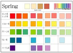 Spring @Color Conscious Life & Style Clear Spring, Light Spring, Color Me Beautiful, Season Colors, Spring Colors, Color Theory, Color Patterns, Bar Chart, Hourglass