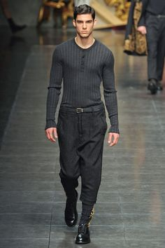 Dolce & Gabbana Fall 2012 Menswear Collection
