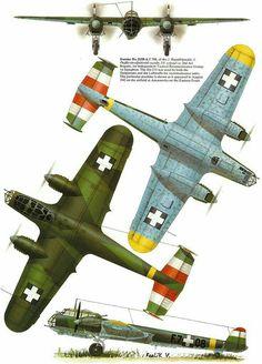 Dornier Do-215 B-4 Венгерских  ВВС 1942