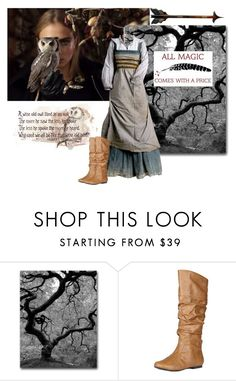 """""""Darcy: Night Owl"""" by foreevers ❤ liked on Polyvore featuring Trademark Fine Art and Qupid"""