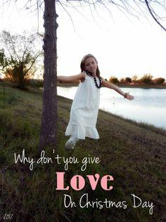Christmas 2012 shoot /Give Love (Madi)