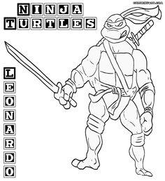 ninja turtles 4 ausmalbilder für kinder. malvorlagen zum ausdrucken und ausmalen   ausmalbilder