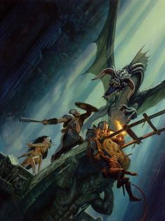 If you don't believe that Todd Lockwood is the Master of Fantasy Art, kindly go away.