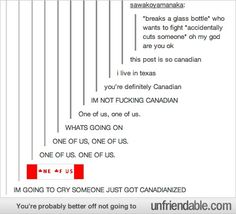 Tumblr - Canadian Cult Because of Hetalia, I read this post so differently