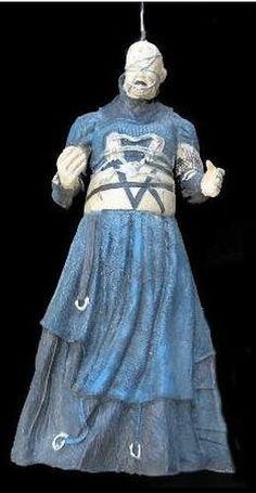 Hellraiser Scary Hanging Decor Barbie