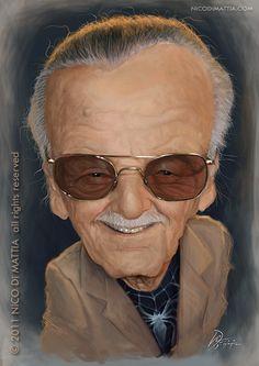 Stan Lee - by Nico Di Mattia