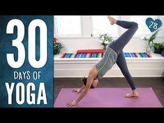 Day 28 - Playful Yoga Practice - 30 Days of Yoga - YouTube