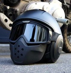 Motorcycle Helmet Shark RAW DRAK Black Metal