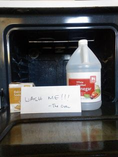 The Feral Goddess:  Oven Care - How To Clean Your Oven Without Harsh Chemical or Dynamite!