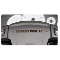 Hummer H2 - Steering Wheel Letter Kit