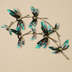Dragonfly Indoor Outdoor Metal Wall Art