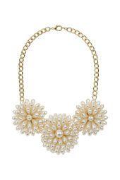 Large Flower Necklace-topshop. £18.50. SS