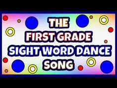 This is a song with first grade sight words for the whole class to do together. Centers First Grade, First Grade Phonics, First Grade Sight Words, First Grade Writing, First Grade Activities, Teaching First Grade, First Grade Classroom, Sight Word Activities, First Grade Projects