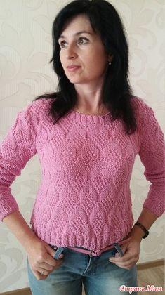 50 оттенков РОЗОВОГО (мои розовые джемперочки) - Вязание - Страна Мам
