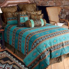 Skystone Turquoise Desert Bedding Collection