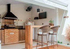 Pergola For Small Backyard House Design, New Homes, House, Home, Interior, Brick And Wood, Home Deco, Home Decor, House Exterior