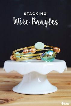 Easy Crafts To Make and Sell - Stacked Wire Bangles - Cool Homemade Craft Projects You Can Sell On Etsy, at Craft Fairs, Online and in Stores. Quick and Cheap DIY Ideas that Adults and Even Teens Can Make http://diyjoy.com/easy-crafts-to-make-and-sell