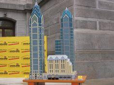Legoland Philadelphia unveils One Liberty Place tower made of 17000 Legos