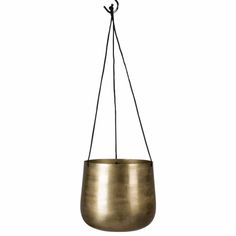 On Interiör Hanging Brass Bowl Planter - Trouva Kitchen Accents, Brass, Hanging, Brass Color, Plant Pot Holders, Hanging Plants, Home Decor, Bowl, Living Spaces