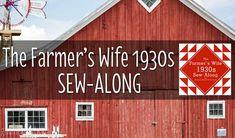 Announcing the Farmer's Wife 1930's Sampler Quilt Sew-along - GnomeAngel