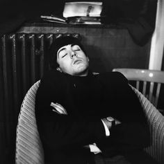 Paul napping