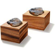 Rablabs Bosque Box - Natural Agate/Gold