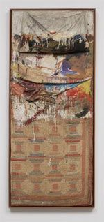 Transforming Everyday Objects - Robert Rauschenberg: Bed, combine painting: oil and pencil on pillow, quilt and sheet on wood supports, 191×800×203 mm, 1955 (New York, Museum of Modern Art); © 2007 Robert Rauschenberg, courtesy of The Museum of Modern Art, New York