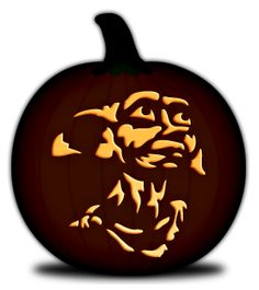 1000 ideas about free pumpkin stencils on pinterest for Harry potter pumpkin carving templates