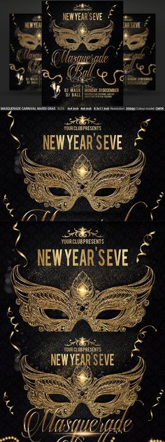 Club Design, Mardi Gras, Masquerade, Carnival, Photoshop, Color, Carnavals, Colour, Masquerades
