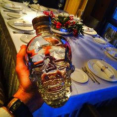 Only serve your guests the best - Crystal Head.  Photography by Emil Sharafutdinov