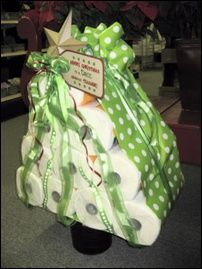 fun teacher gifts-I am thinking Kleenex instead since they are always asking for extra.  Cute idea!
