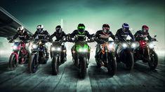General 1920x1080 motorcycle sport  motorcyclist vehicle racing artwork KTM KTM Duke 125 Yamaha Kawasaki Kawasaki Z800 Ducati Yamaha YZF Bering