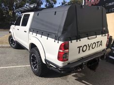 Hilux Ute canopy for wellbody heavy duty Perth built frame aluminium and premium marine grade Ute canopy cover made in Perth boxed up and shipping Australia wide. Built to order. Ute Canopy, Canopy Frame, Canopy Cover, Ute Trays, Pvc Windows, Car Upholstery, Roof Top Tent, Electrical Components, Roof Rack