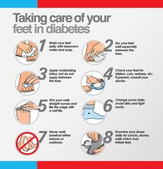 Taking Care of your Feet if Diabetic - follow this simple rules!