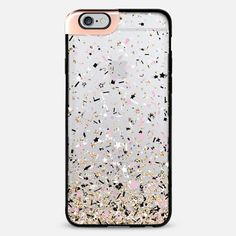 Gold Pink Black and White Party Confetti Explosion iPhone 6 Plus Metaluxe Case by Organic Saturation | Casetify Get $10 off using code: 53ZPEA