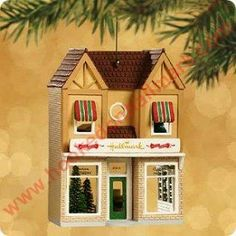 Hallmark Card Shop, Nostalgic Houses & Shops Series Hallmark Ornament, 2002