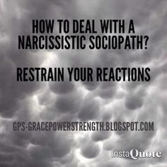GPS-Grace Power Strength: 5 Tips In Dealing With A Narcissistic Sociopath