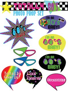 30th Party, Adult Birthday Party, 30th Birthday Parties, Birthday Party Themes, 80s Party Decorations, Party Props, Party Ideas, 80s Theme, Skate Party