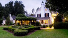 The Fearrington House Restaurant, a world-class, AAA Five-Diamond restaurant at Fearrington Village in Pittsboro, NC.