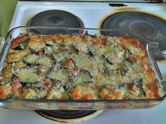 Cheesy Eggplant Parmigiana