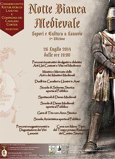 MedioEvo Weblog: Notte Bianca Medievale a Lanuvio (RM)