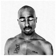 """Tupac Shakur // """"We wouldn't ask why a rose that grew from the concrete had damaged petals. On the contrary, we would all celebrate its tenacity... Well, we are the rose, this is the concrete, and these are my damaged petals. Don't ask me why...ask me how."""""""