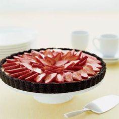 Mascarpone Tart with Strawberries | MyRecipes.com