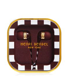 Henri Bendel Striped Earbuds | Travel | Henri Bendel