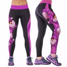 Sexy Ladies YOGA Workout Gym Digital Print Sports Pants/Leggings