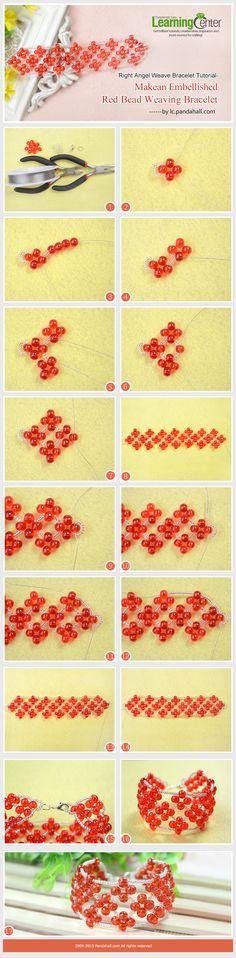 Pulsera rombo roja