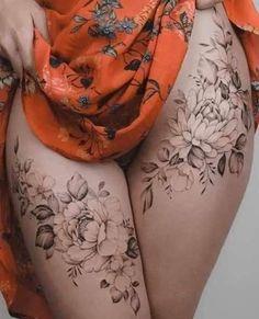 Weird Tattoos, Girly Tattoos, Hot Tattoos, Life Tattoos, Flower Tattoos, Body Art Tattoos, Sexy Tattoos For Girls, Tattoos For Women, Tattoo P