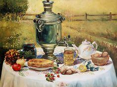 "Photo from album ""ЖИВОЕ ПИСЬМО"" on Yandex. Russian Tea, Good Morning Gif, Coffee Set, Humor, Tea Party, Nature, Beautiful, Ukraine, Death Note"