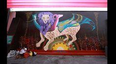 Mural hecho por 'Quore'. Foto: Facebook/Municipalidad Metropolitana de Lima